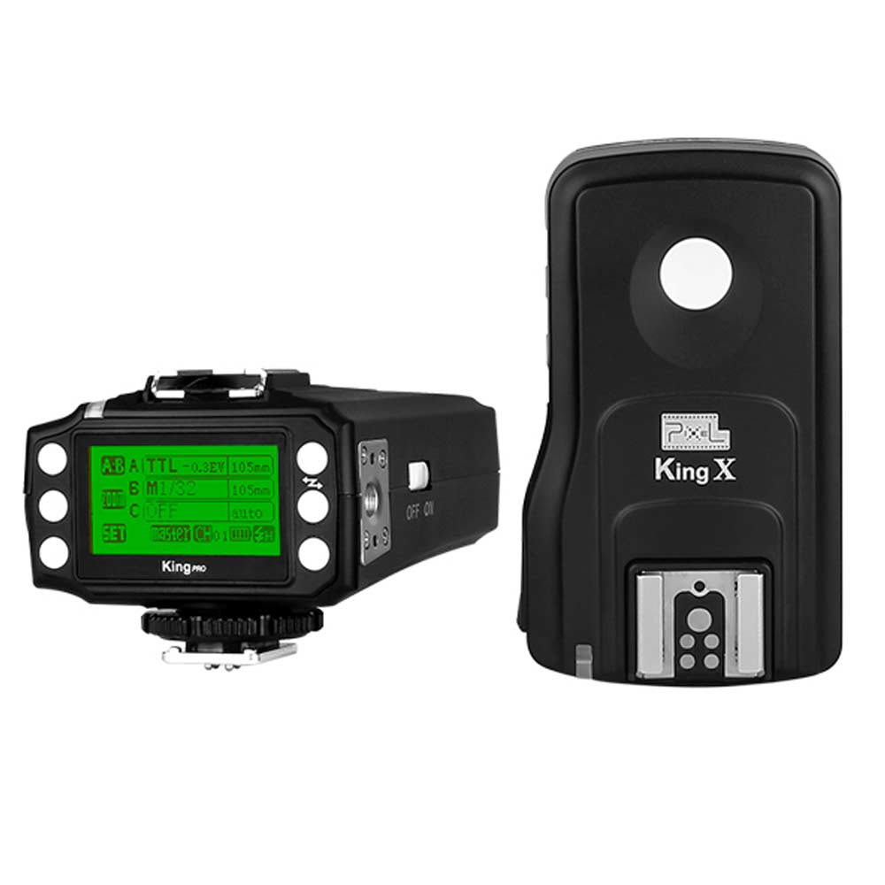Flash Trigger Pixel KING PRO wireless TTL 300 metri x CANON