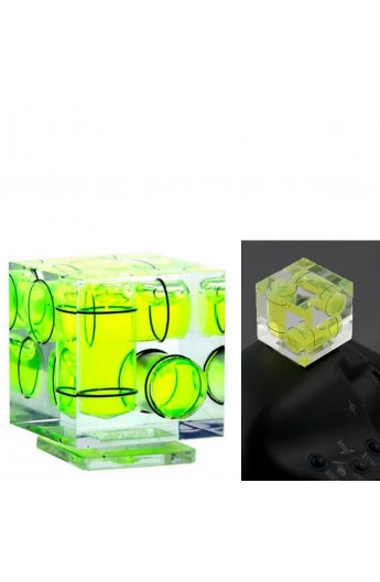 Livella 3D a Tripla Bolla per attacco flash