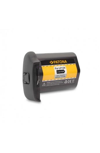 Batteria PATONA compatibile Canon LP E4 2600mAh