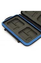 Custodia IMPERMEABILE MC4 x 4 Schede CF - 8 XD - 8 MicroSD