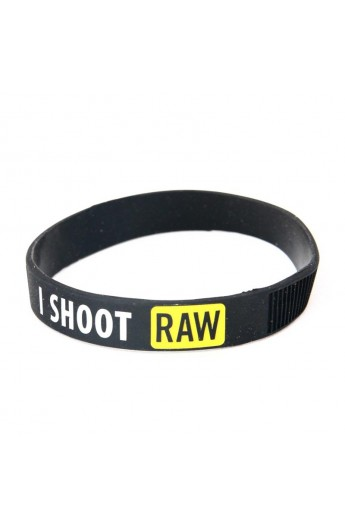 Bracciale Gadget I Shoot RAW
