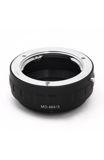 Anello adattatore obiettivi Minolta MD su Micro 4:3