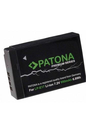 Batteria PATONA Premium LP E17 LP-E17 950mAh per Canon 200D 750D 760D 77D