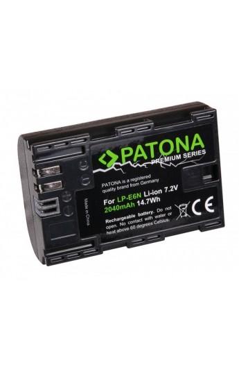 Batteria PATONA Premium Canon LP E6N 2040mAh