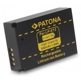 Batteria PATONA Canon LP-E12 800mAh per EOS 100D M M10 M100