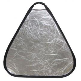 Kit pannelli riflettenti triangolari 2in1 con custodia 60cm con impugnatura