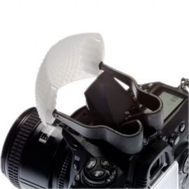 Diffusore per flash integrato con 3 schermi