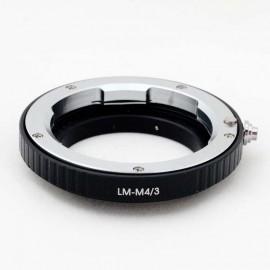 Anello adattatore obiettivi Leica M su Micro 4:3
