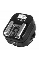 Convertitore slitta flash HotShoe PIXEL TF-334 Canon Nikon su fotocamere Sony Mi