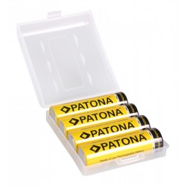 PATONA Batterie ministilo AAA blister da 4 LR6 PATONA 900mAh