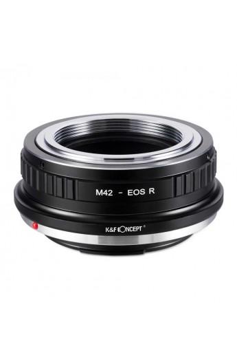 Anello adattatore obiettivi M42 su Canon EOS R