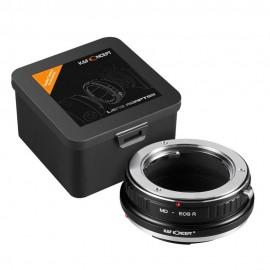 Anello adattatore obiettivi Minolta MD su Canon EOS R