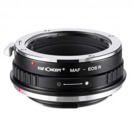 Anello adattatore obiettivi Pentax K su Canon EOS R