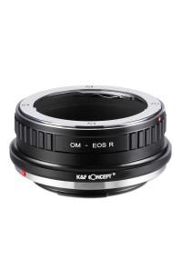 Anello adattatore obiettivi Olympus OM su Canon EOS R