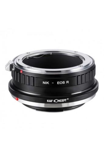 Anello adattatore obiettivi Nikon F su Canon EOS R