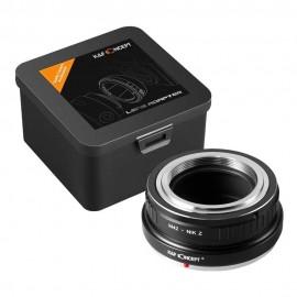Anello adattatore obiettivi a vite M42 su Nikon Z Z6 Z7