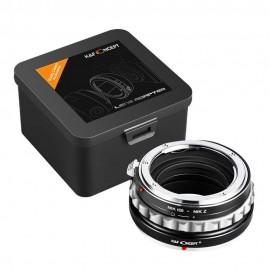 Anello adattatore obiettivi Nikon G su Nikon Z Z6 Z7