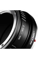 Anello adattatore obiettivi Nikon F su Nikon Z Z6 Z7