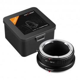 Anello adattatore obiettivi Contax Yashica su Nikon Z Z6 Z7