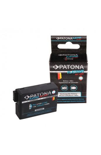 Batteria PATONA Premium Canon LP-E8 Lp-E8+ Comp. 550D 600D 700D