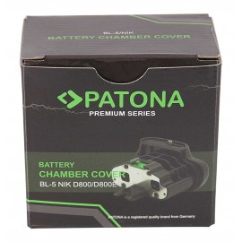 PATONA Cover Batteria BL-5 Nikon D800 D800E in battery grip MB-D12 MB-D18