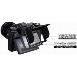 Protezione Schermo LCD in VETRO OTTICO GGS Larmor 5 Gen per Sony A7II A7III A9