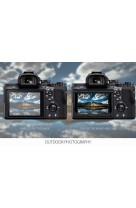 Protezione Schermo LCD in VETRO OTTICO GGS Larmor 5 Gen per Canon 7D Mark II