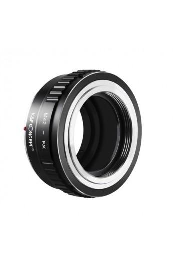 Anello adattatore obiettivi M42 su Mirrorless Fujifilm Fuji X