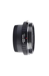 Anello adattatore obiettivi Contax Yashica su Nikon con vetro ottico K&F Concept