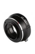Anello adattatore obiettivi Leica R su Micro 4:3