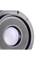 Anello adattatore obiettivi Canon FD su Canon EOS con vetro ottico