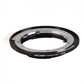 Anello adattatore obiettivi Nikon G su Canon EOS EF