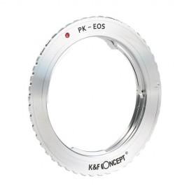 Anello adattatore obiettivi Pentax K su Canon EOS EF