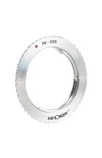 Anello adattatore K&F per obiettivi Pentax K su Canon EOS EF