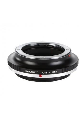Anello adattatore obiettivi Olympus OM su Fuji GFX Fujifilm