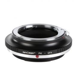 Anello adattatore obiettivi Pentax K su Fuji GFX Fujifilm