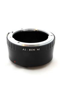Anello adattatore obiettivi Nikon F AI su Canon EOS M