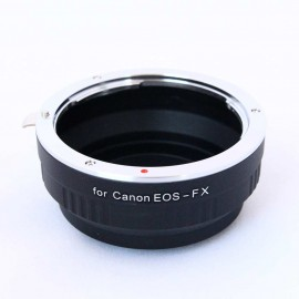 Anello adattatore obiettivi Canon EOS EF su Mirrorless Fujifilm Fuji X