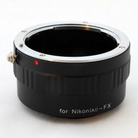 Anello adattatore obiettivi Nikon F AI su Mirrorless Fujifilm Fuji X