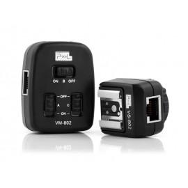 Cavo adattatore per 3 Flash Trigger TTL Pixel PF-802 Nikon