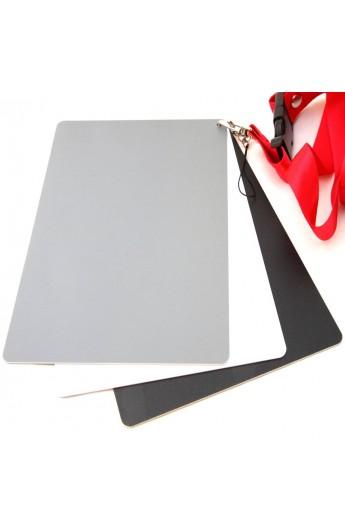 Kit Grey Cards Cartoncini bilanciamento bianco professionali 3 pezzi
