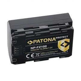 Batteria PATONA Protect SONY NP-FZ100 per A7 III, A7 3, A7M3, Alpha A7 III
