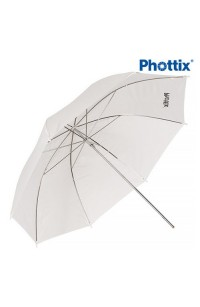 Ombrello Phottix D. 84cm Bianco Traslucido
