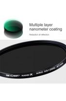 Filtro ND Densità Neutra ND1000 82mm K&F NANO-X