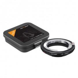 Anello adattatore K&F per obiettivi Leica M su Canon EOS R