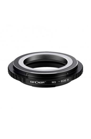Anello adattatore K&F per obiettivi M39 su Canon EOS R