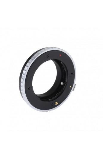 Anello adattatore K&F per obiettivi Contax G su Fuji X Fujifilm