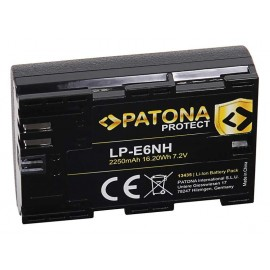 Batteria PATONA Protect compatibile Canon LP-E6NH Eos R5 R6
