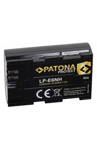 Batteria PATONA Protect compatibile Canon LP-E6NH Eos R5 R6