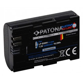 PATONA Platinum Canon LP-E6NH Eos R5 R6